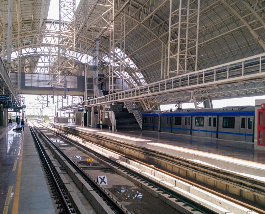 Koyambedu Metro Station