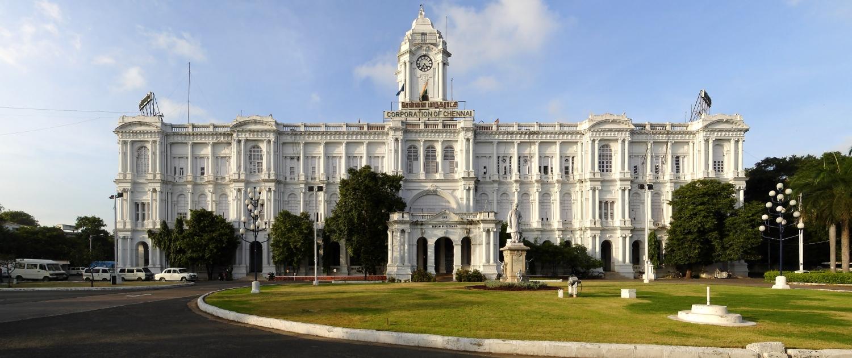 Greater Chennai Corporation, Ripon Building Panorama